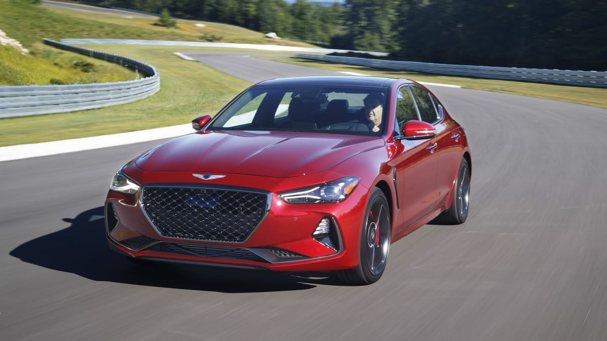 Genesis G70 Named 2019 North American Car of the Year (Richard Prince/Genesis)