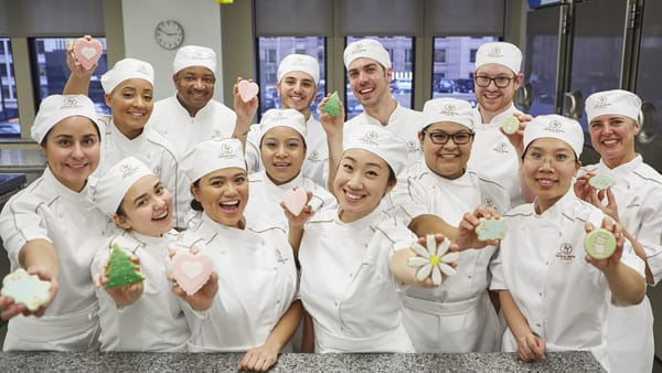 Students of The French Pastry School's full-time programs.