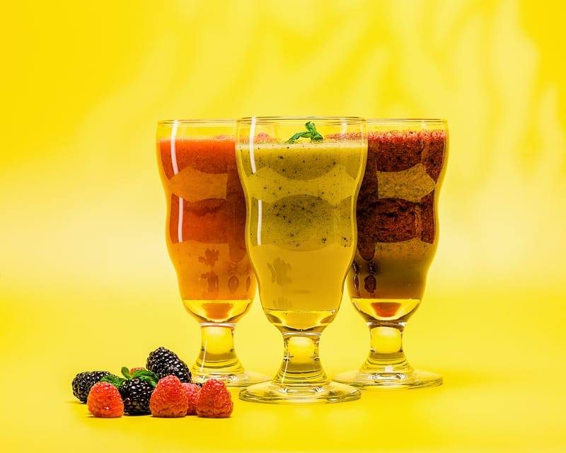 Smoothies - Photo by Alexander Varvarin