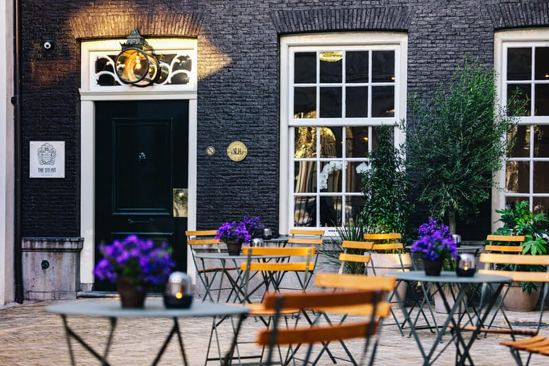 The Dylan Amsterdam - Front Courtyard