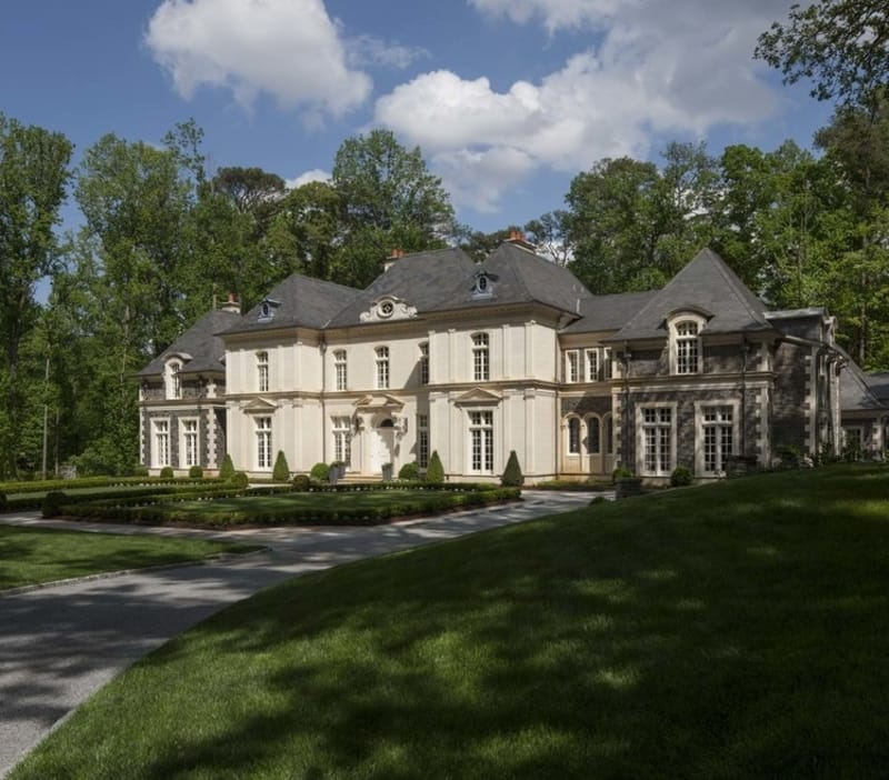 Limestone Chateau - designed by William T. Baker