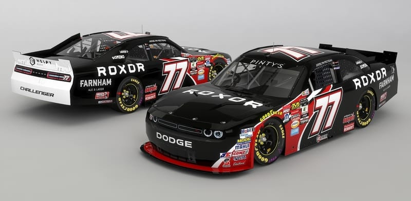 NASCAR Car of Team JF77