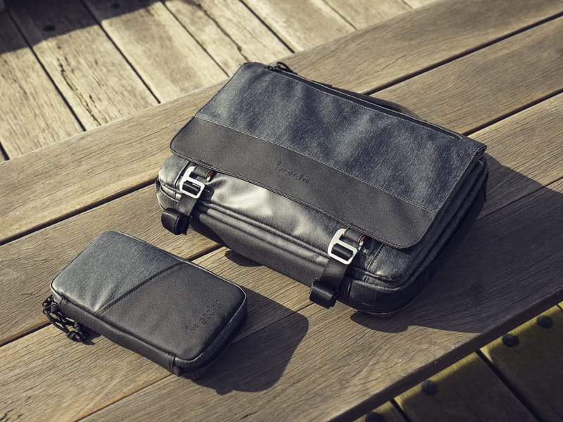 Etchr Satchel and Etchr Field Case