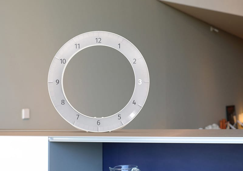 The Only Clock - Designed by Vadim Kibardin
