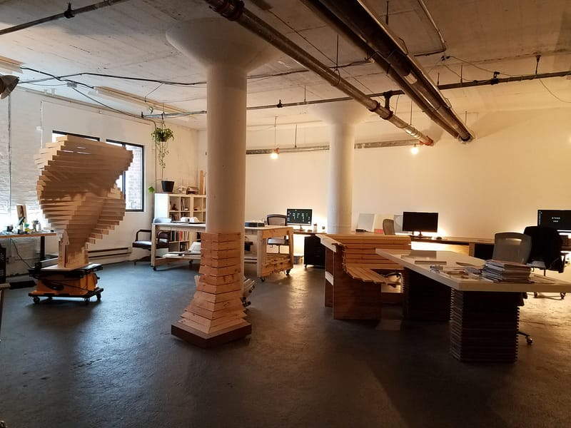 I-Kanda Architects OFFICE - Photo by Matt Delphenich