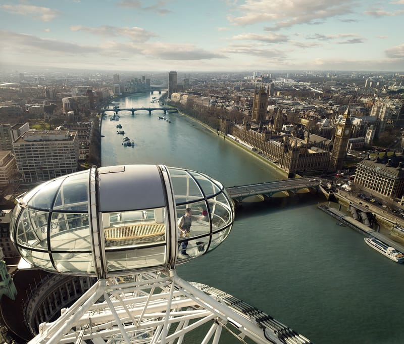London Eye - Photo by Markku Lahdesmaki