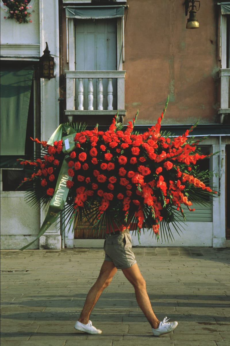 Flowerman - Photo by Lorentz Gullachsen