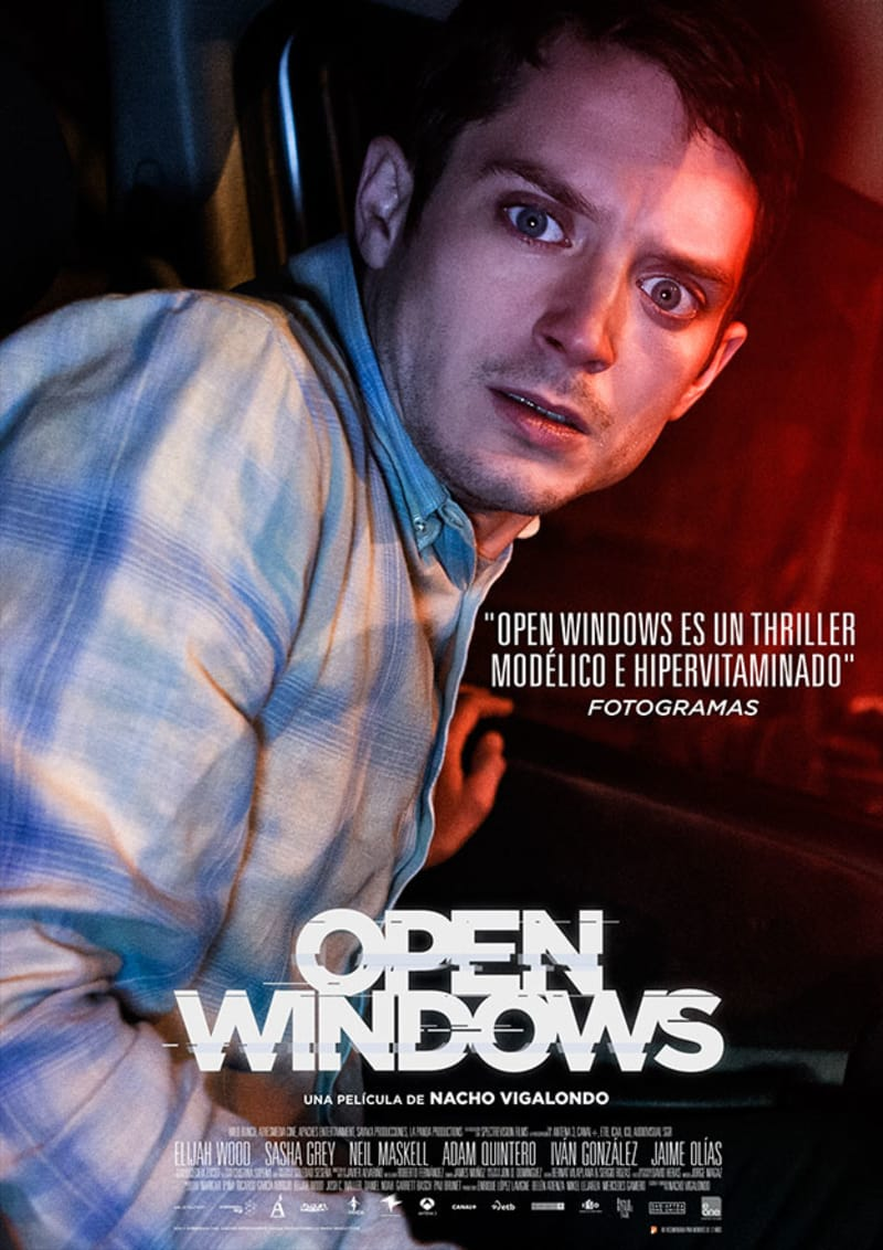 Open Windows Movie Poster - Photo by Jorge Alvariño