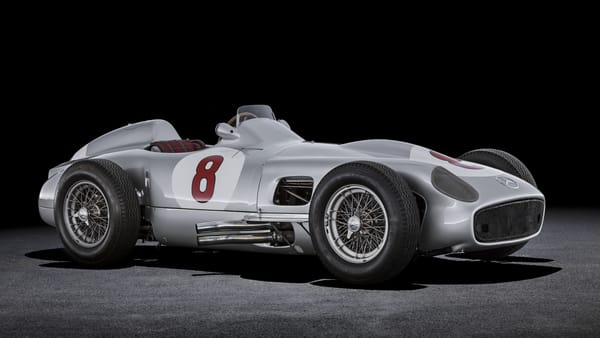 Mercedes-Benz 1955 Formula 1 Car W 196 R
