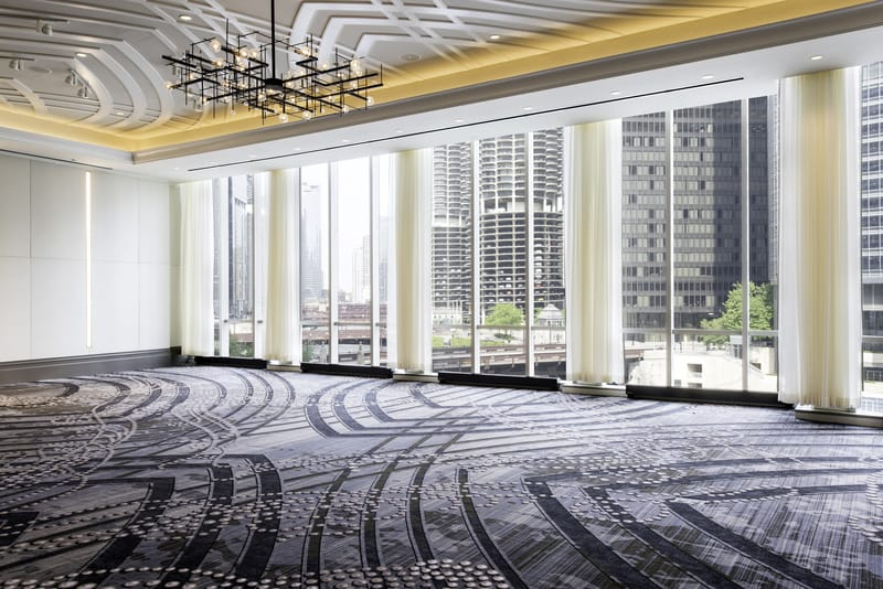 LondonHouse Chicago Juliette Grand Ballroom Chicago River View