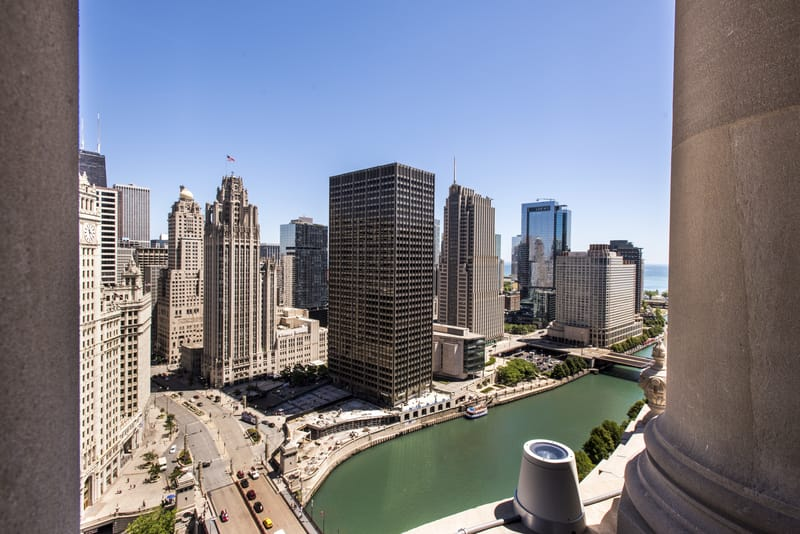 LondonHouse Chicago View from Cupola - Photo by Nicholas James Photography