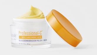 Professional-C™ Microdermabrasion Polish + Mask Jar