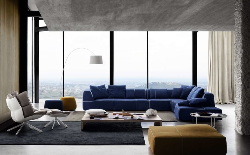 B&B Italia Bend-Sofa - The Best Modern Corner Sofas from B&B Italia