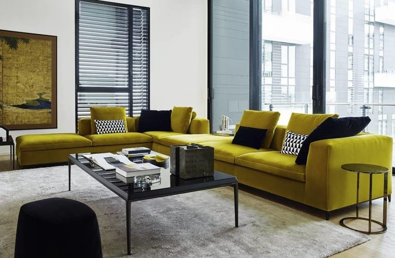 B&B Italia Michel Club - The Best Modern Corner Sofas from B&B Italia