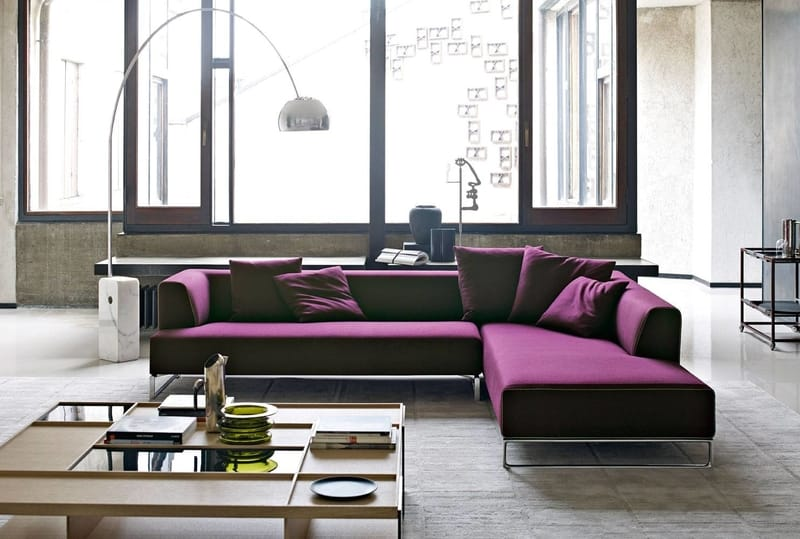 B&B Italia Solo '14 - The Best Modern Corner Sofas from B&B Italia