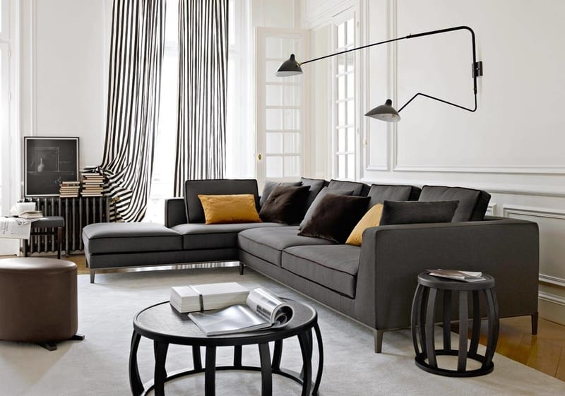 B&B Italia Lucrezia - The Best Modern Corner Sofas from B&B Italia