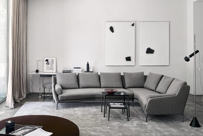 B&B Italia Édouard - The Best Modern Corner Sofas from B&B Italia