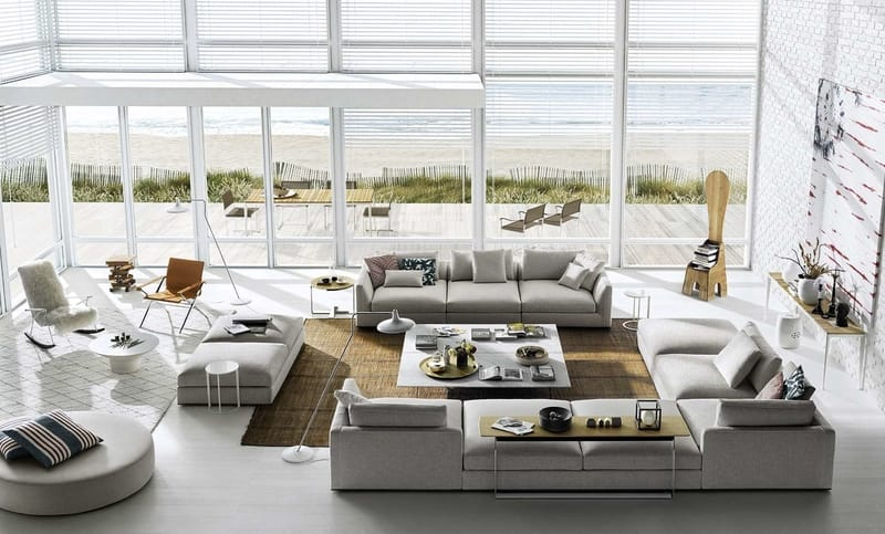B&B Italia Richard - The Best Modern Corner Sofas from B&B Italia