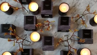 New Candle Collection by ZGO Perfumery