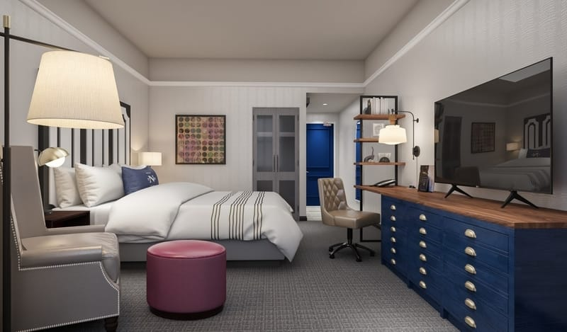 The Notary Hotel Sleeping Room