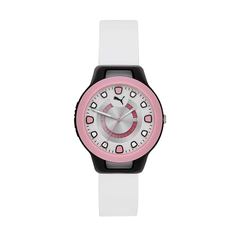 PUMA The RESET Collection - White Slicone Watch