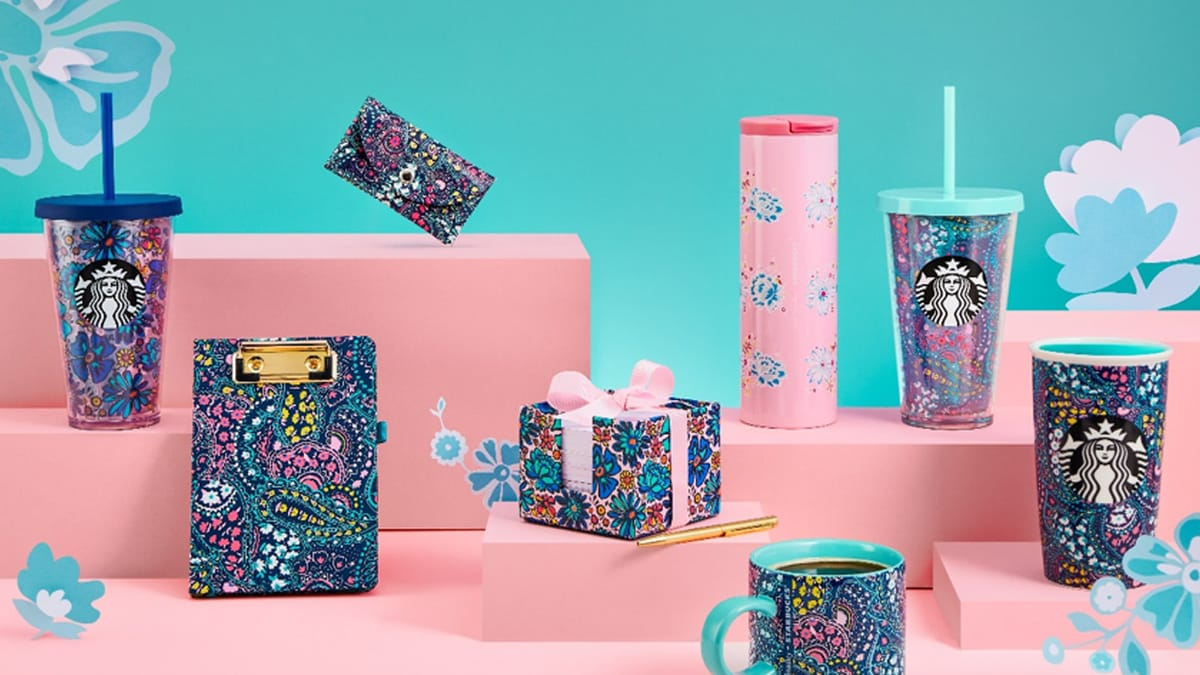Starbucks - Vera Bradley Exclusive Merchandise Collection