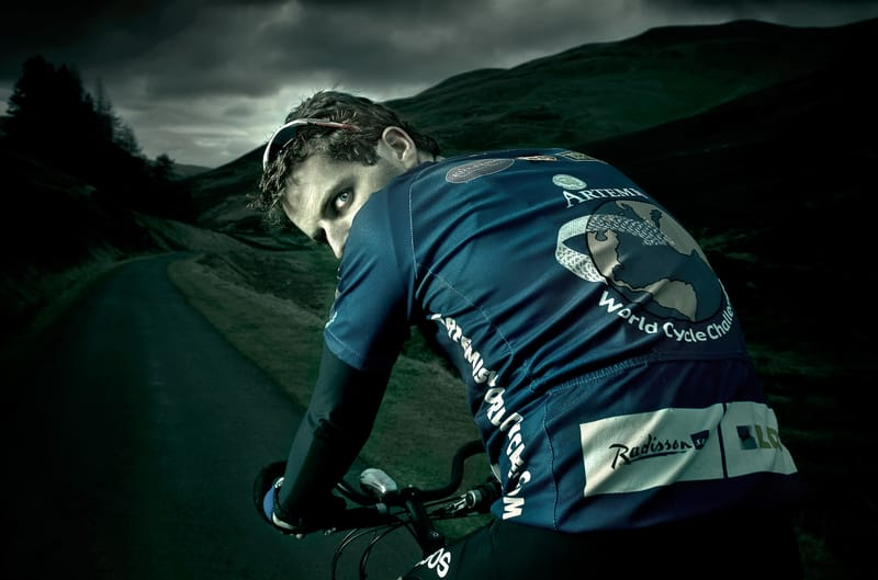Mark Beaumont - Photo by Chris Close
