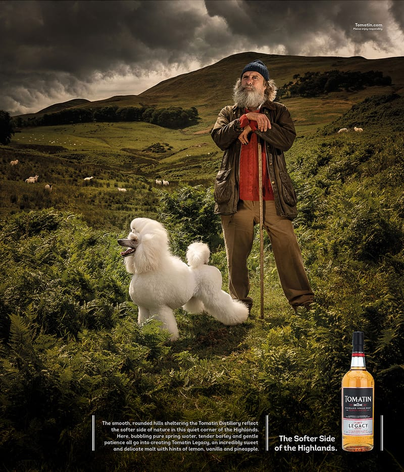 Tomatin Whisky Campaign - Photo by Chris Close