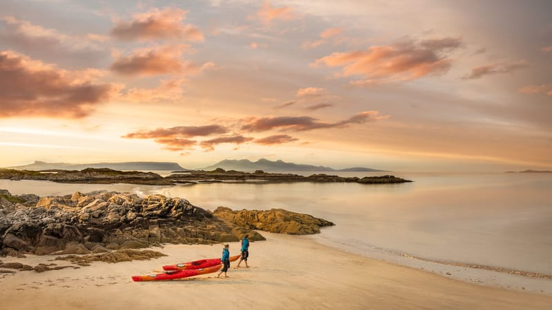 Cambusdarach Kayakers - Photo by Chris Close