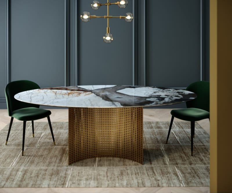 LUNETTE DINING - Designed by Alexia Mintsouli