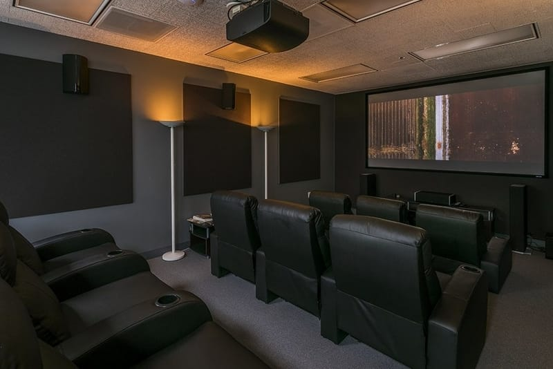 ZEISS Cinema Lens Demo Center in Sherman Oaks, Los Angeles. 4K HDR Theater