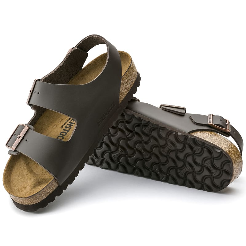 Birkenstock Milano Natural Leather