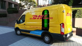 The New H2 Panel Van Electric Delivery Vehicle