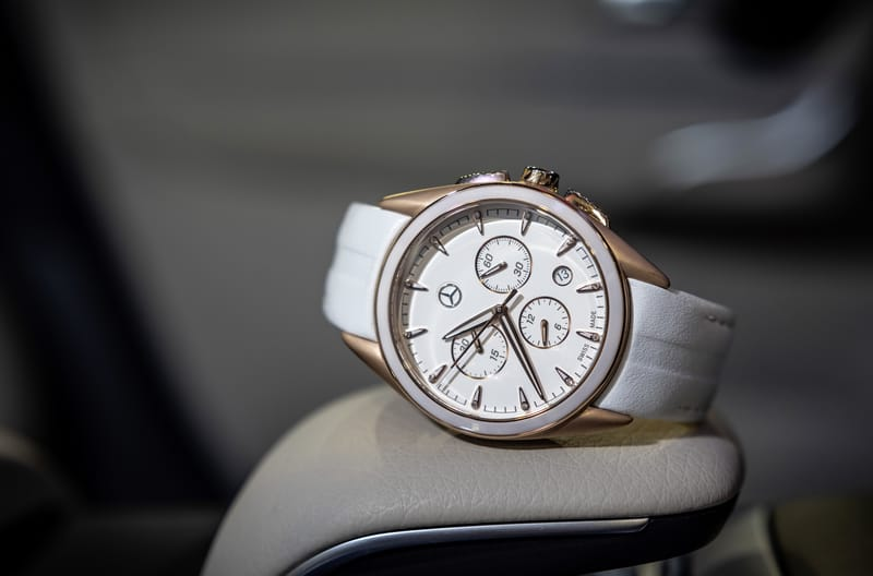 The New Mercedes-Benz Design Wristwatch Collection, Women s Chronograph, Sport Fashion M3