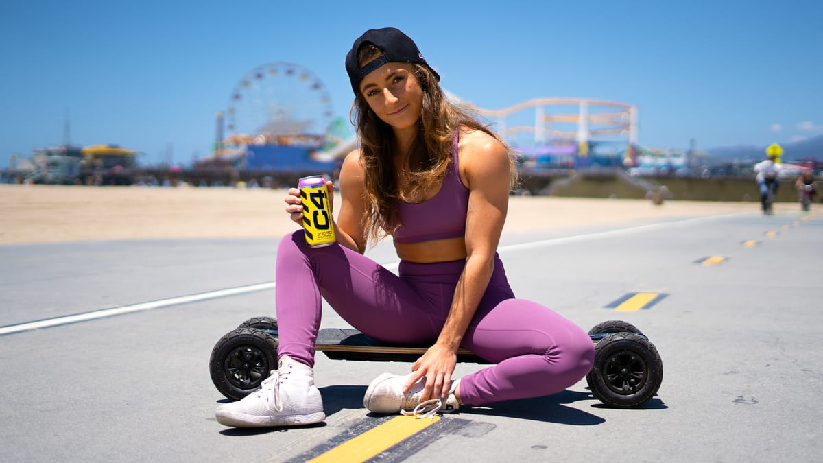 Demi Bagby and C4® Energy Drink