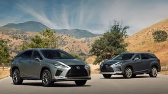 2020 Lexus RX and RXL