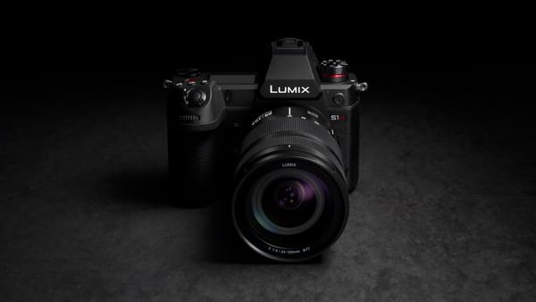 LUMIX S1H Full-Frame Mirrorless Camera