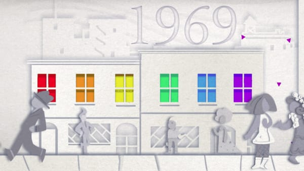 Celebrating 50 years of Pride - Image Credit: Google Doodle