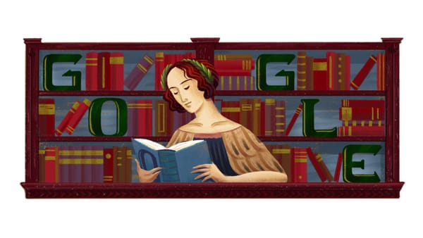 Google celebrates the 373rd birthday of Italian philosopher and theologian Elena Cornaro Piscopia - Image Credit: Google Doodle