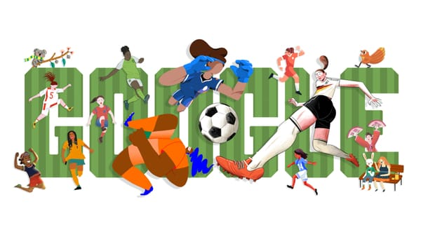 2019 Women's World Cup - Image Credit: Google Doodle