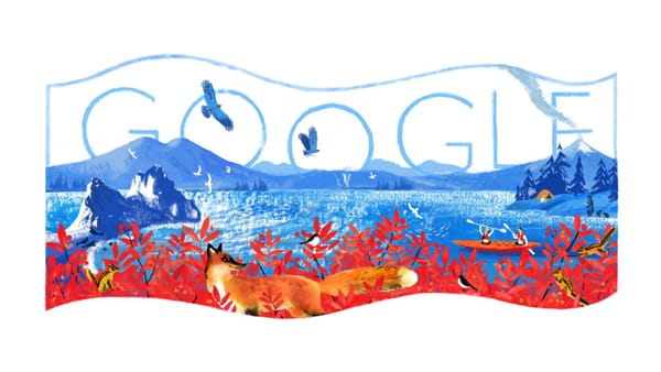 Russia Day 2019 - Image Credit: Google Doodle