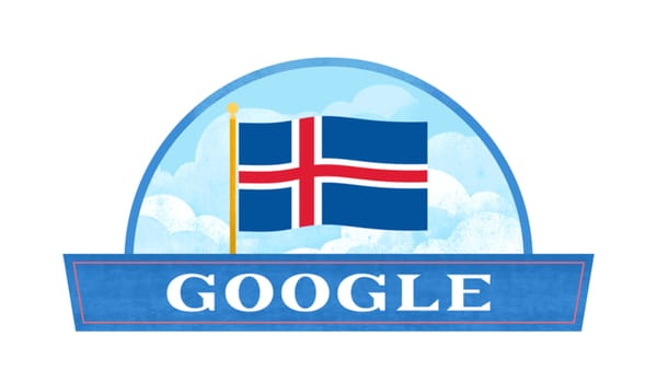 Iceland National Day: Google Celebrates the National Day of Iceland - Image Credit: Google Doodle