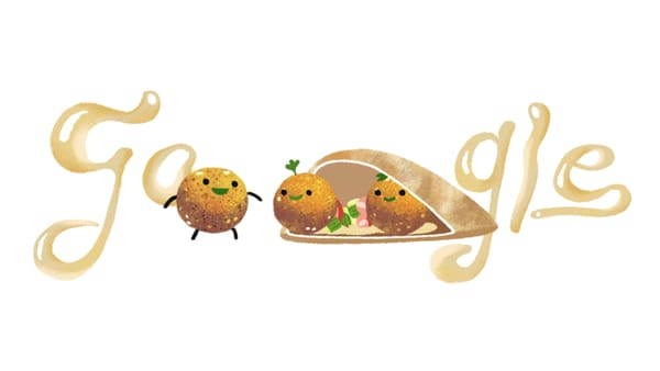 Falafel, The Taste from the East - Image Credit: Google Doodle