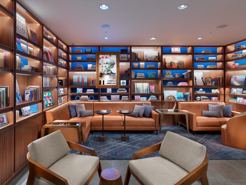 The Axiom Hotel - Library