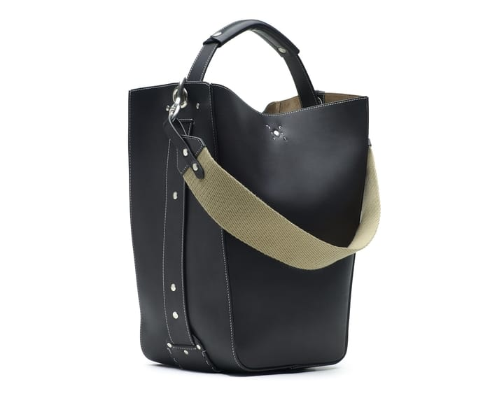 GHURKA - BUCKET BAG - STARLING LEATHER