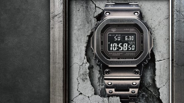 Casio G-SHOCK Unveils Limited Edition Full-Metal Timepiece GMWB5000V