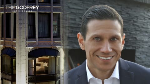 Paul Sauceda, Director of Sales and Marketing at The Godfrey Hotel Boston