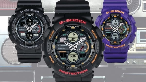 Casio G-SHOCK Unveils the Brand New GA140 Series with Five New Models