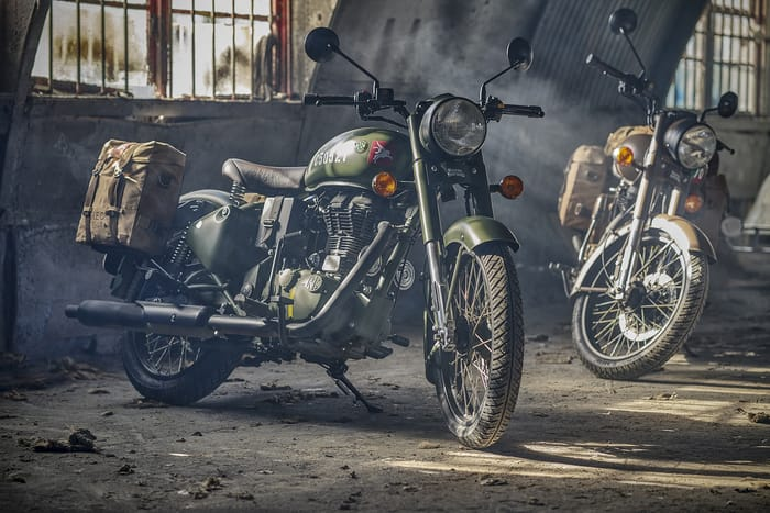 Royal Enfield Pegasus - Photo by Nigel Harniman