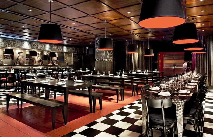 SLS Hotel, a Luxury Collection Hotel, Beverly Hills - The Bazaar Rojo Dining Room